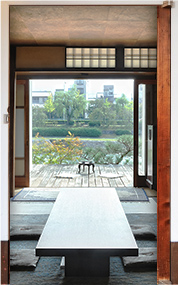 Kamogawa House Door