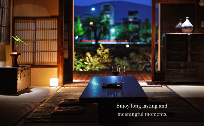 Enjoy long lasting and meaningful moments.